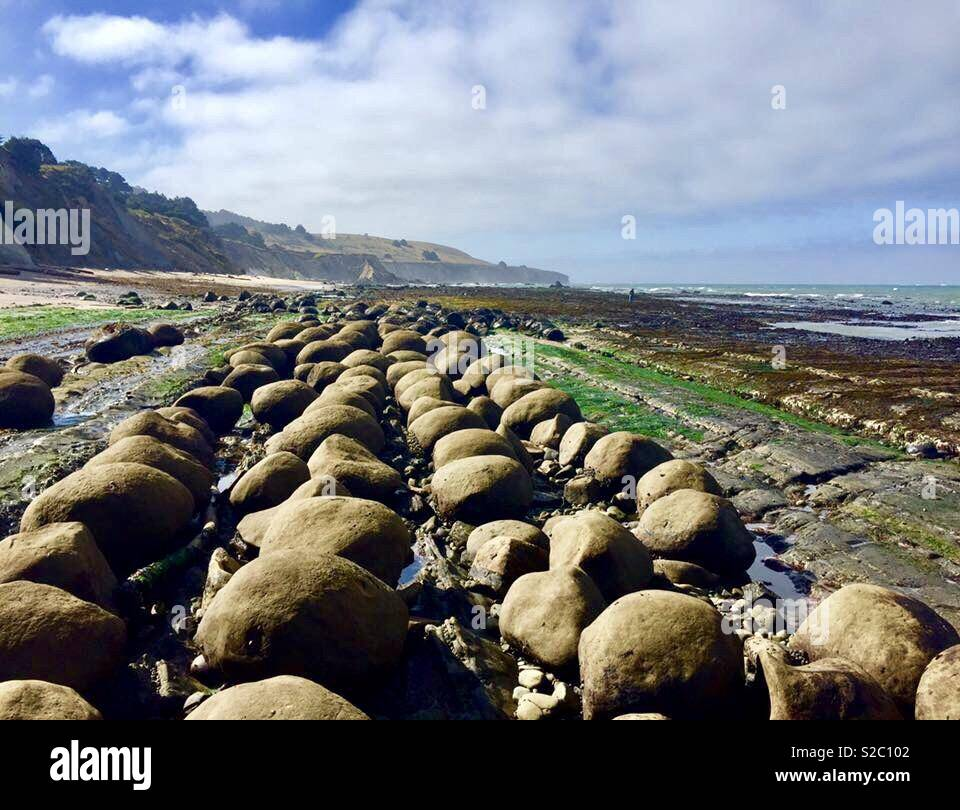 Bowling Ball Beach California Coast Stock Photo 311280146 Alamy