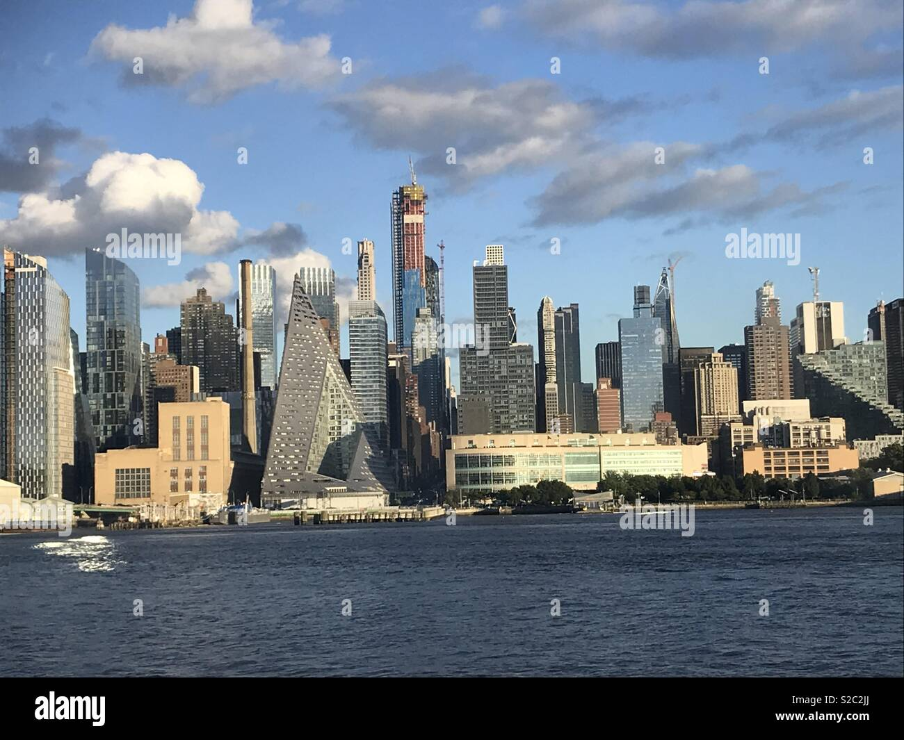 Westside skyline, Manhattan, area around W. 57th St. - Stock Image
