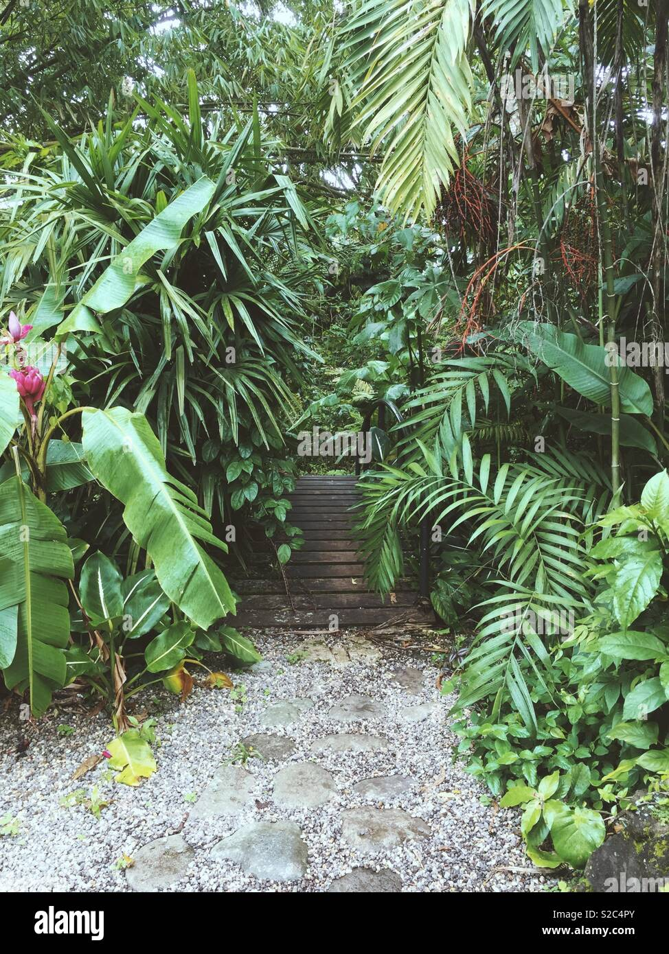 Hidden places - Stock Image