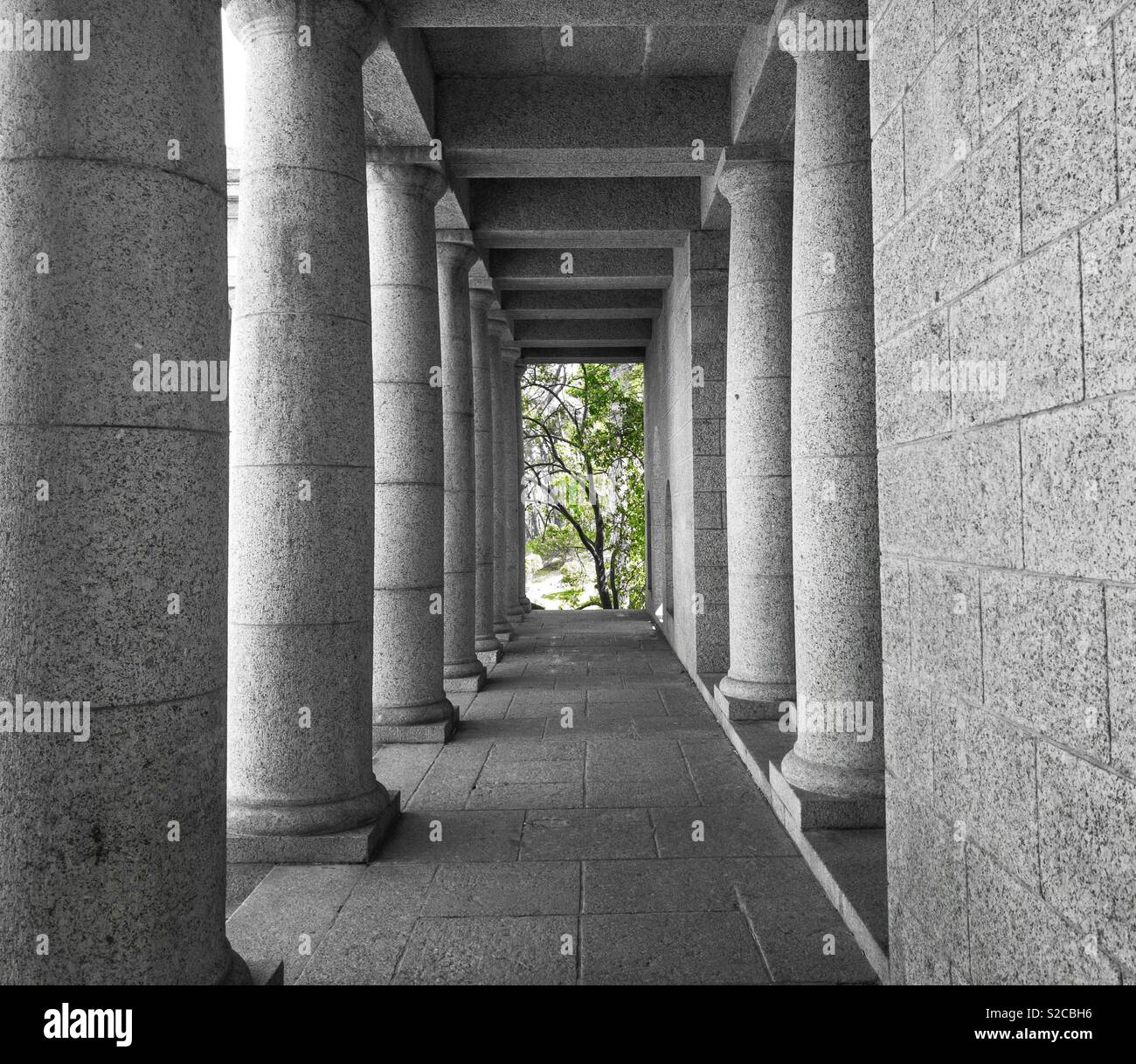 rhodes memorial, cape town, south africa - Stock Image
