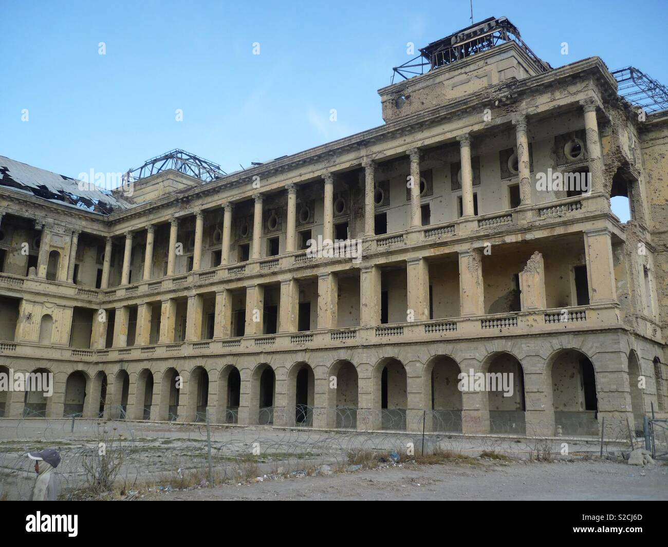 Queen's Palace, Kabul - Stock Image