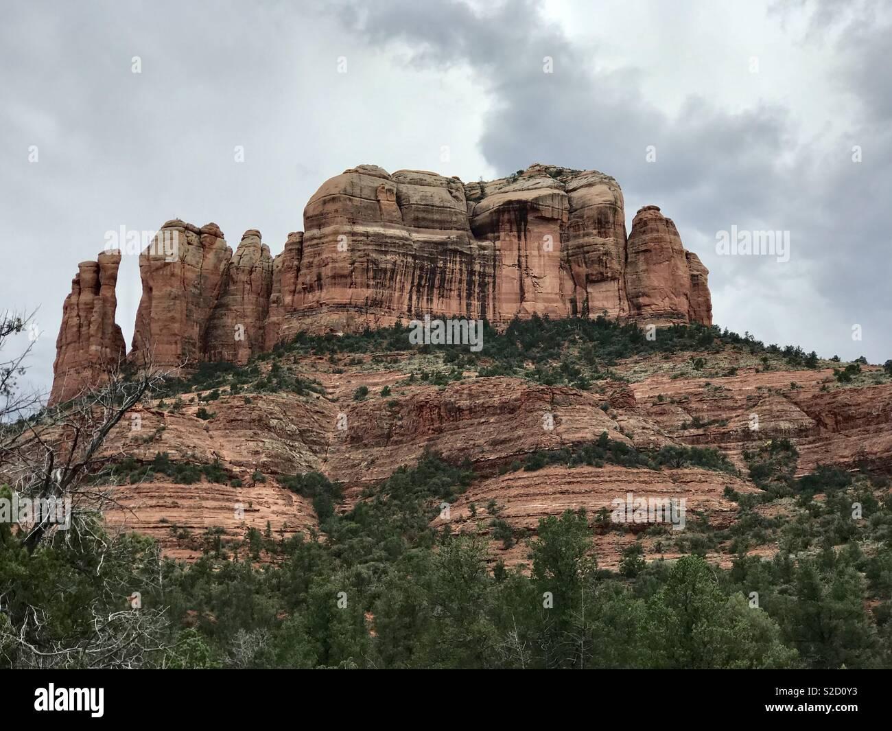 Cathedral Rock Sedona - Stock Image