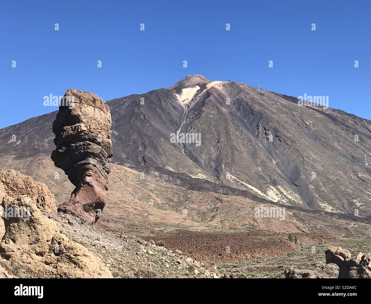 Teide Tenerife Spain - Stock Image