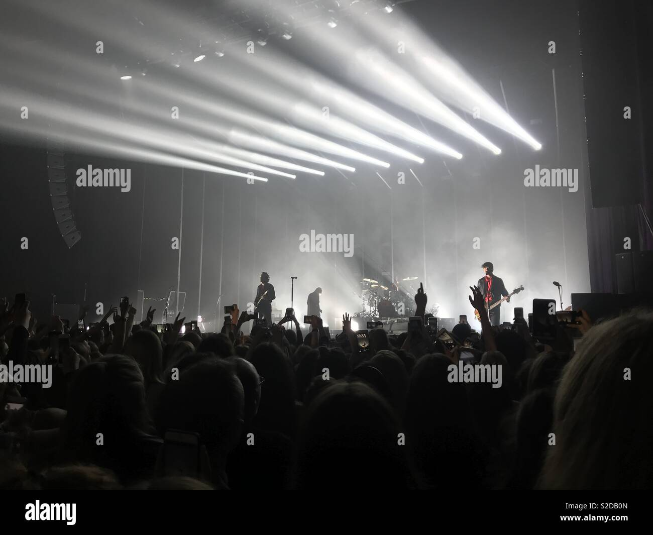 5 Seconds of Summer performing at the O2 Apollo in Manchester - Stock Image