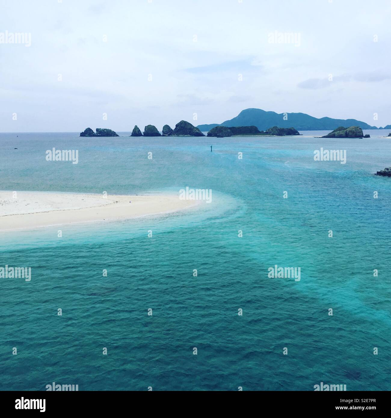Island hopping - Stock Image