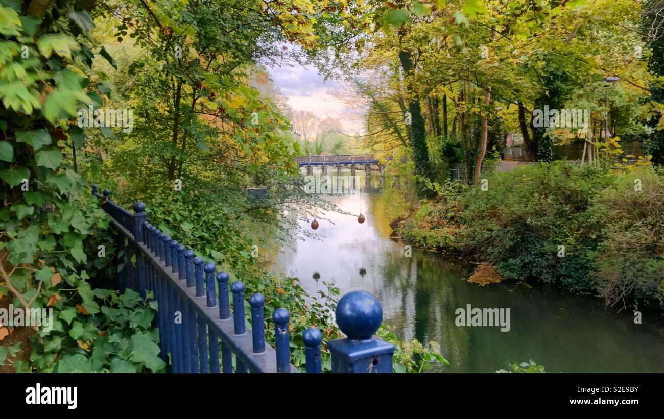 Romantic Autumn - Stock Image