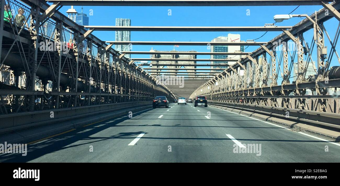 New York secrets - Stock Image