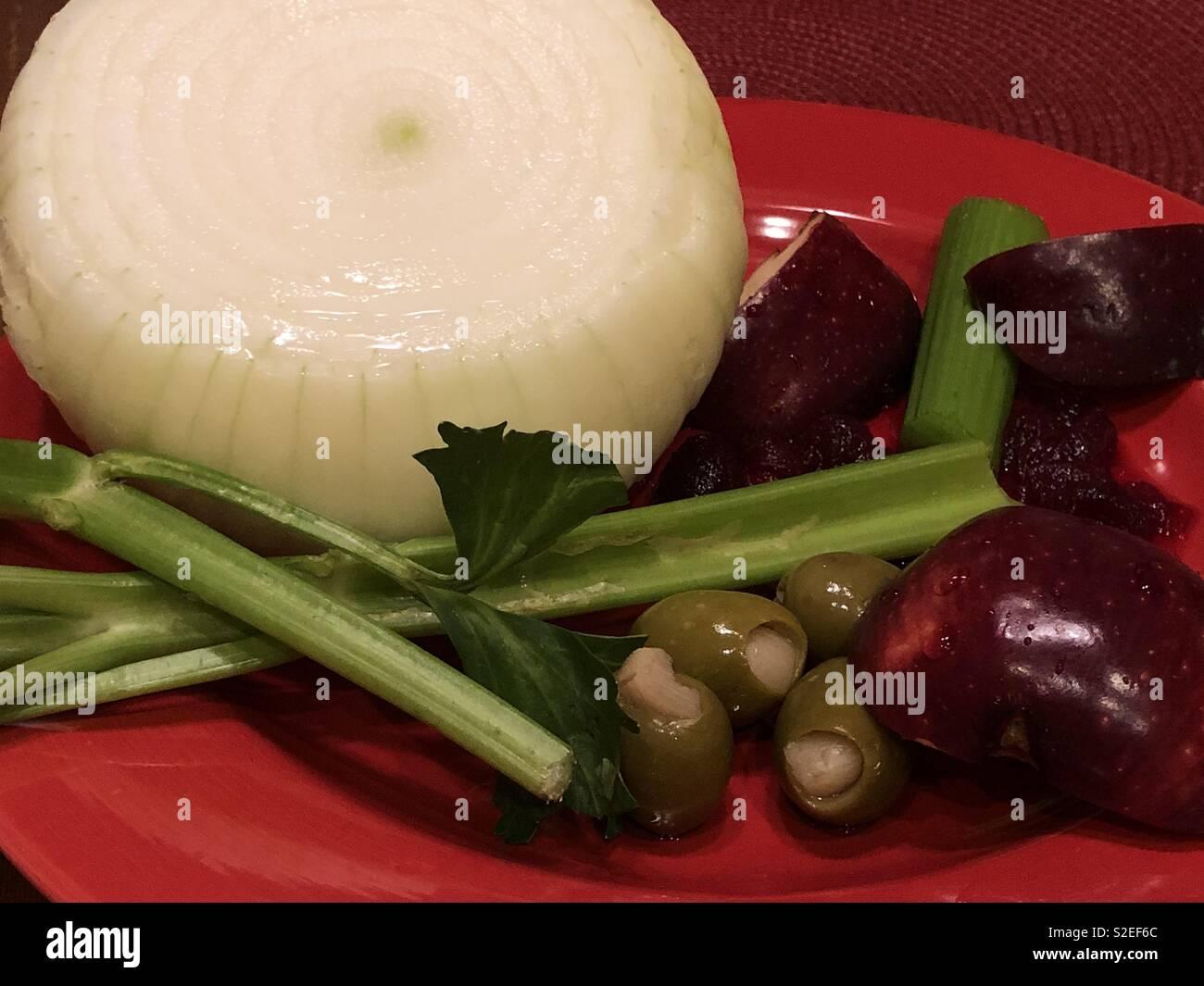 Happy Veggies - Stock Image