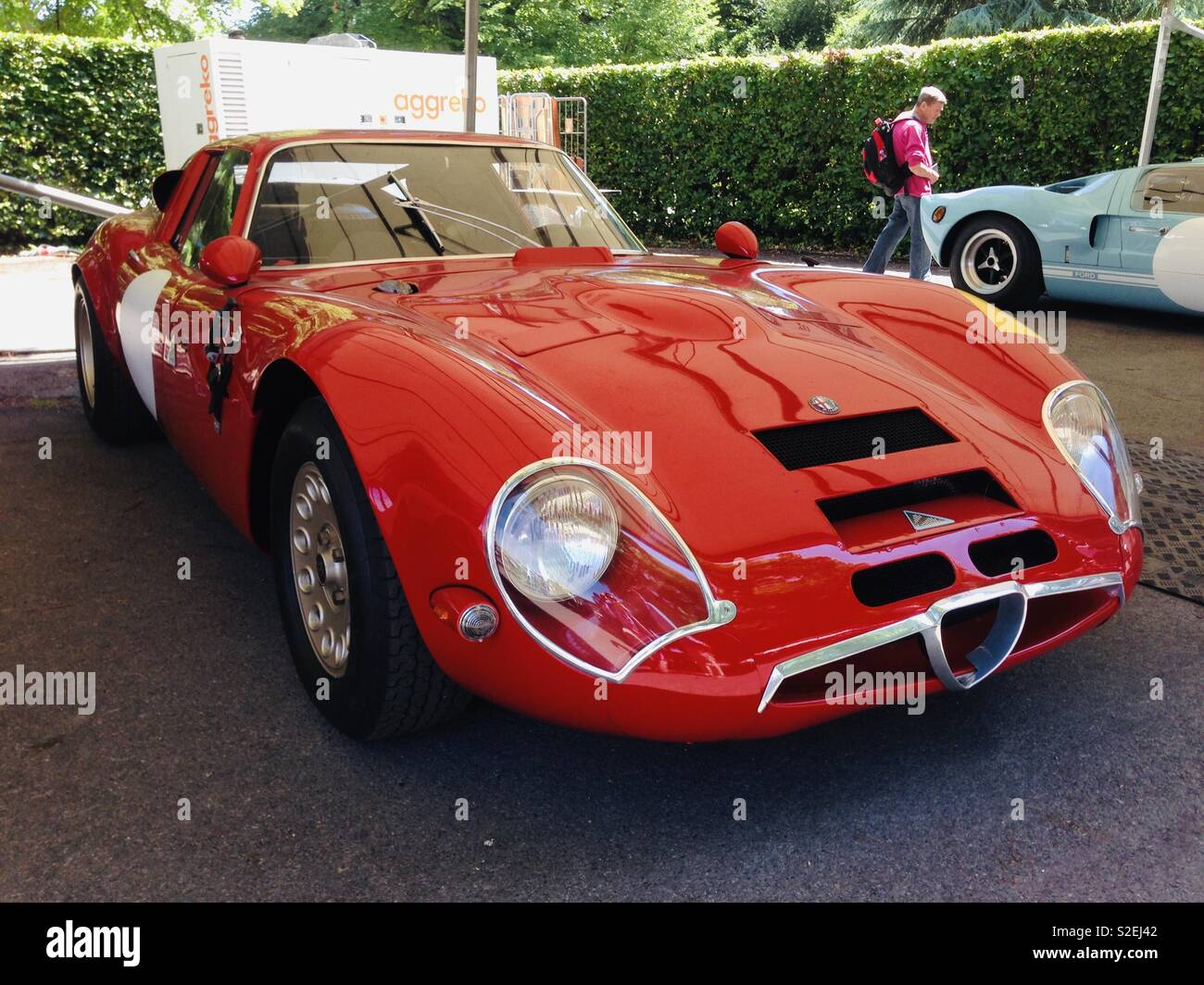 Alfa Romeo Classic Car Stock Photos & Alfa Romeo Classic