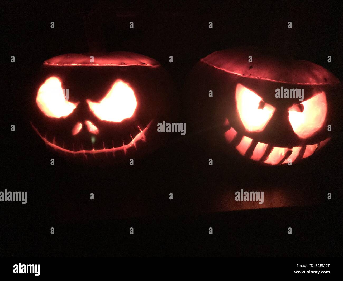 Nightmare Before Christmas Pumpkin Stock Photos & Nightmare Before ...