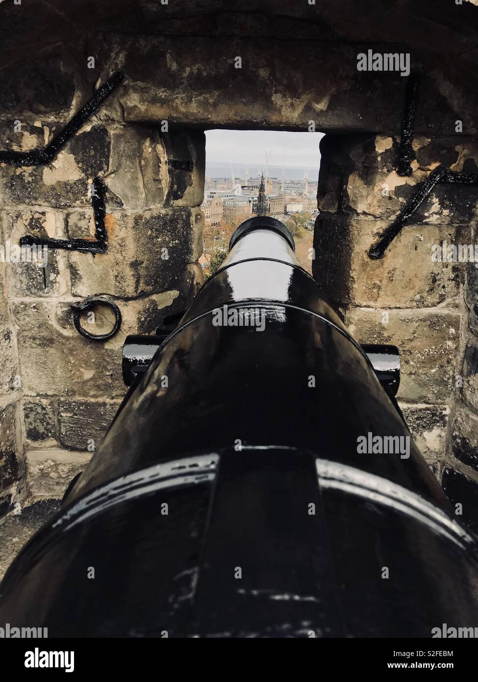 Cannon views - Stock Image