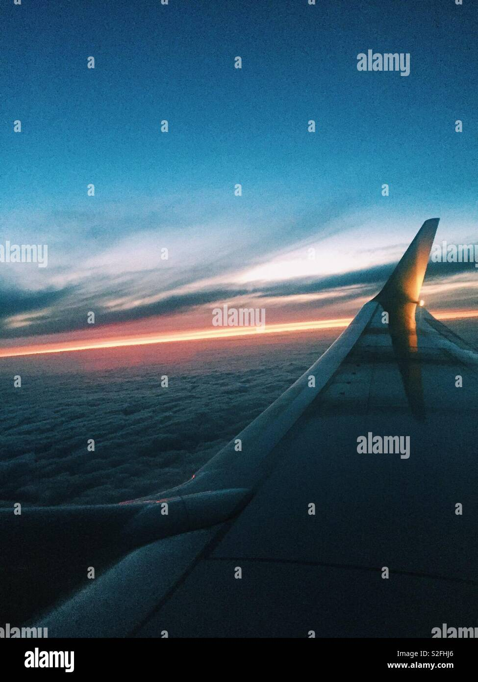 Air plane view - Stock Image
