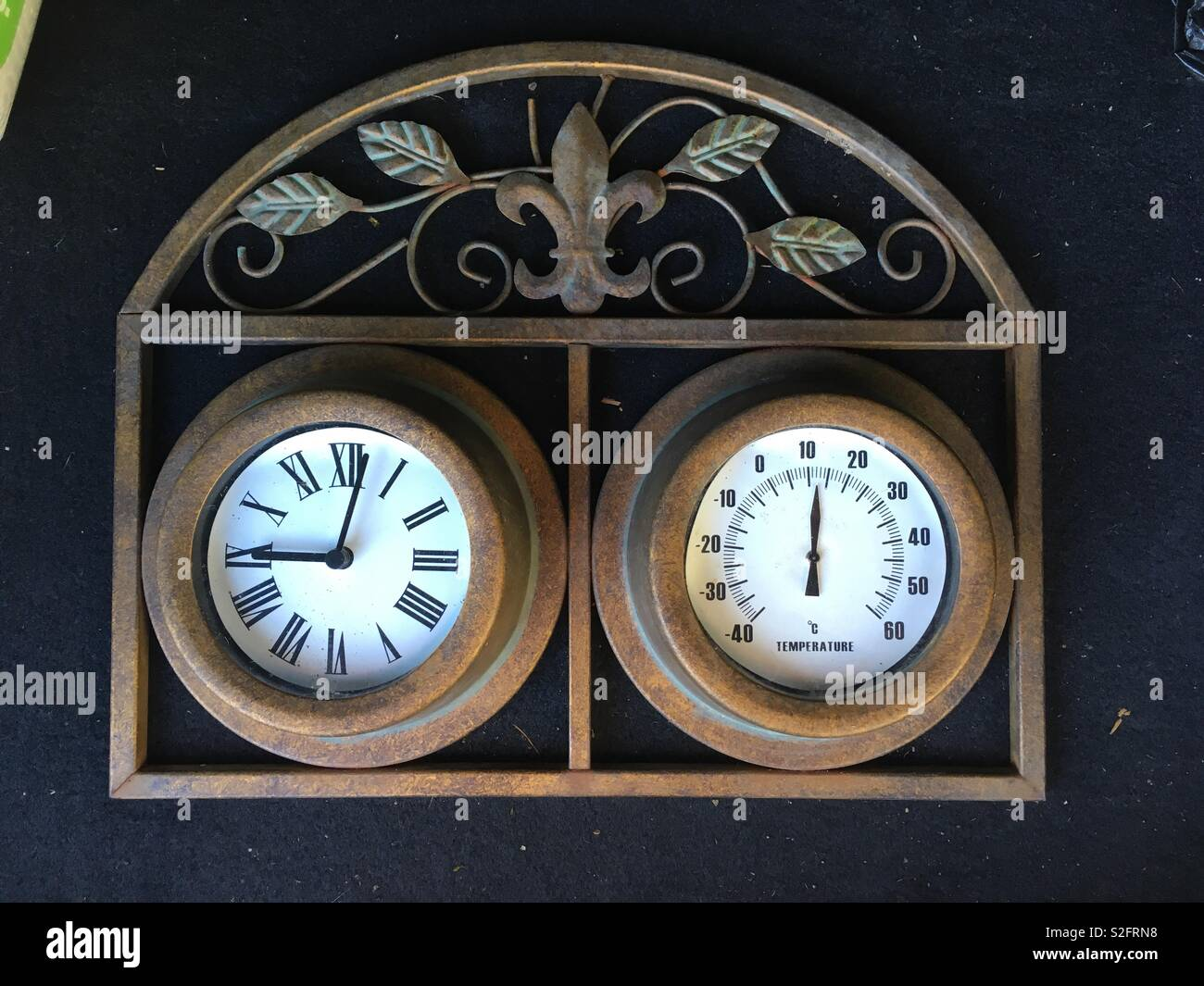 Time and humidity - Stock Image