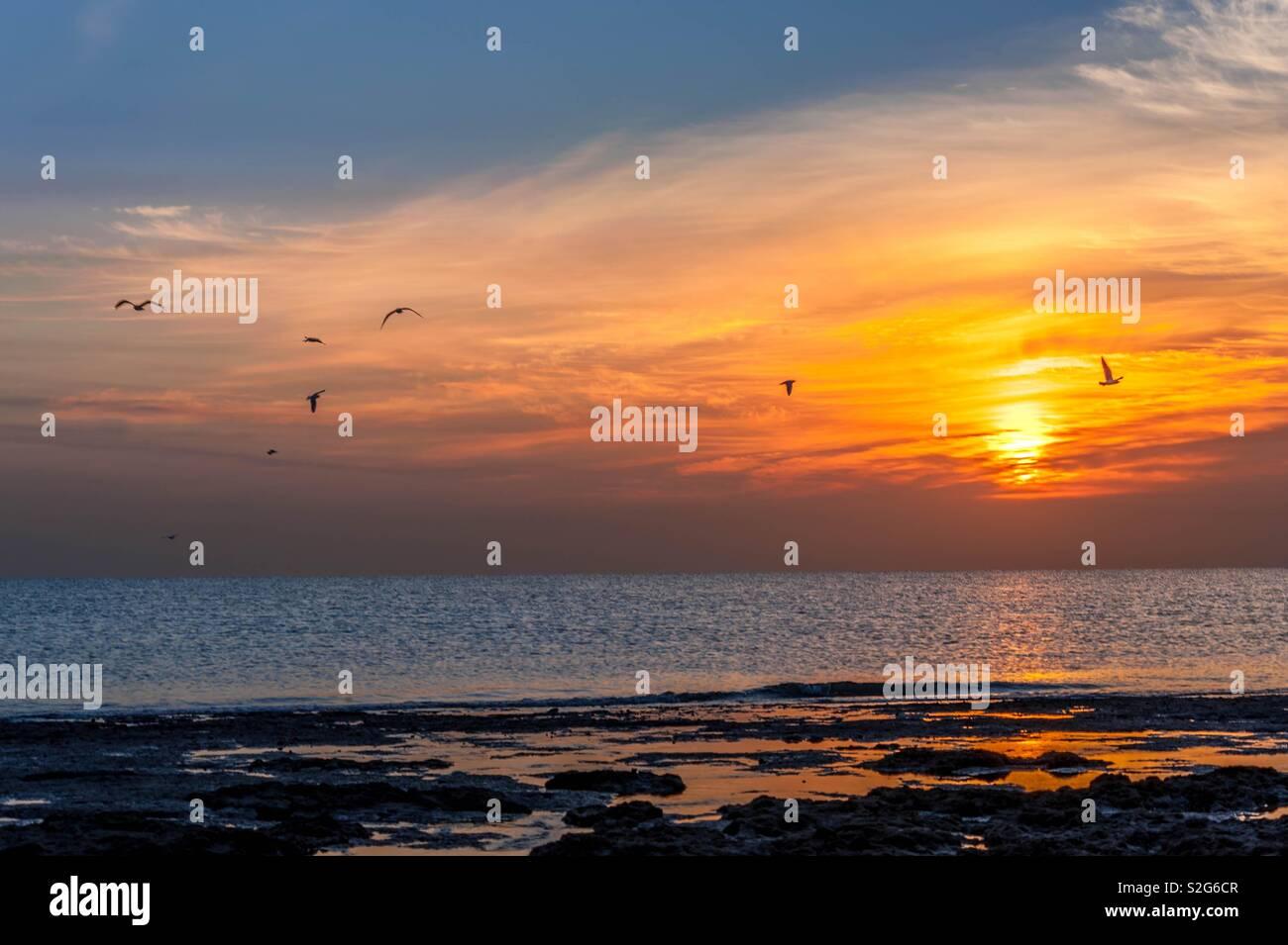 Sunrise Kuwait - Stock Image