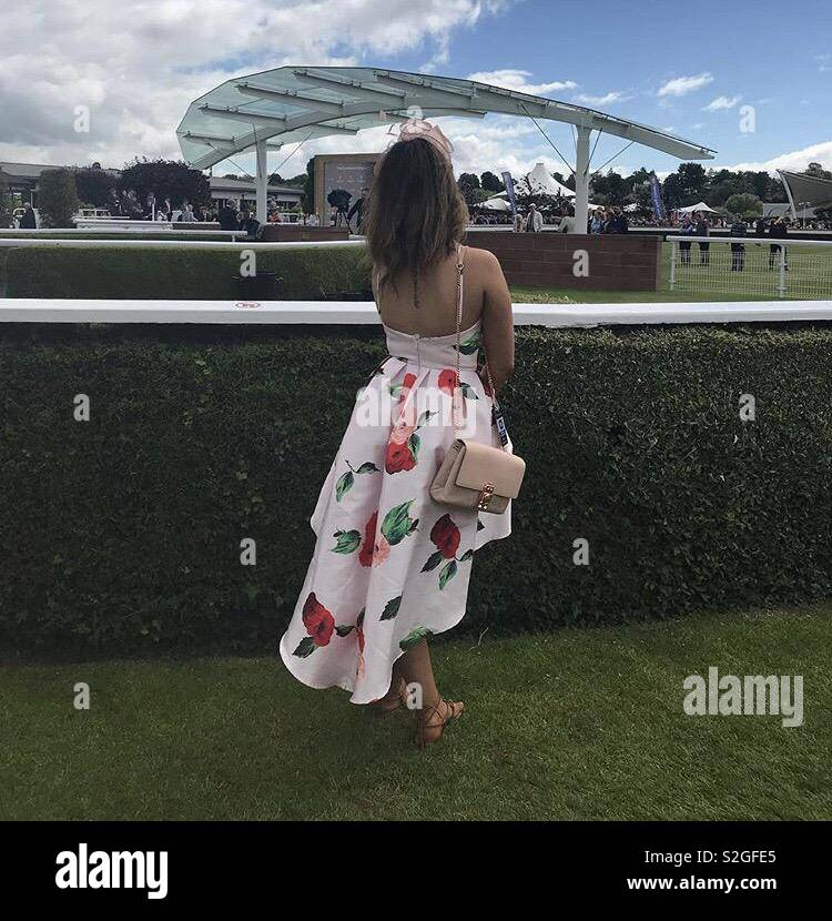 Day at the races - Stock Image