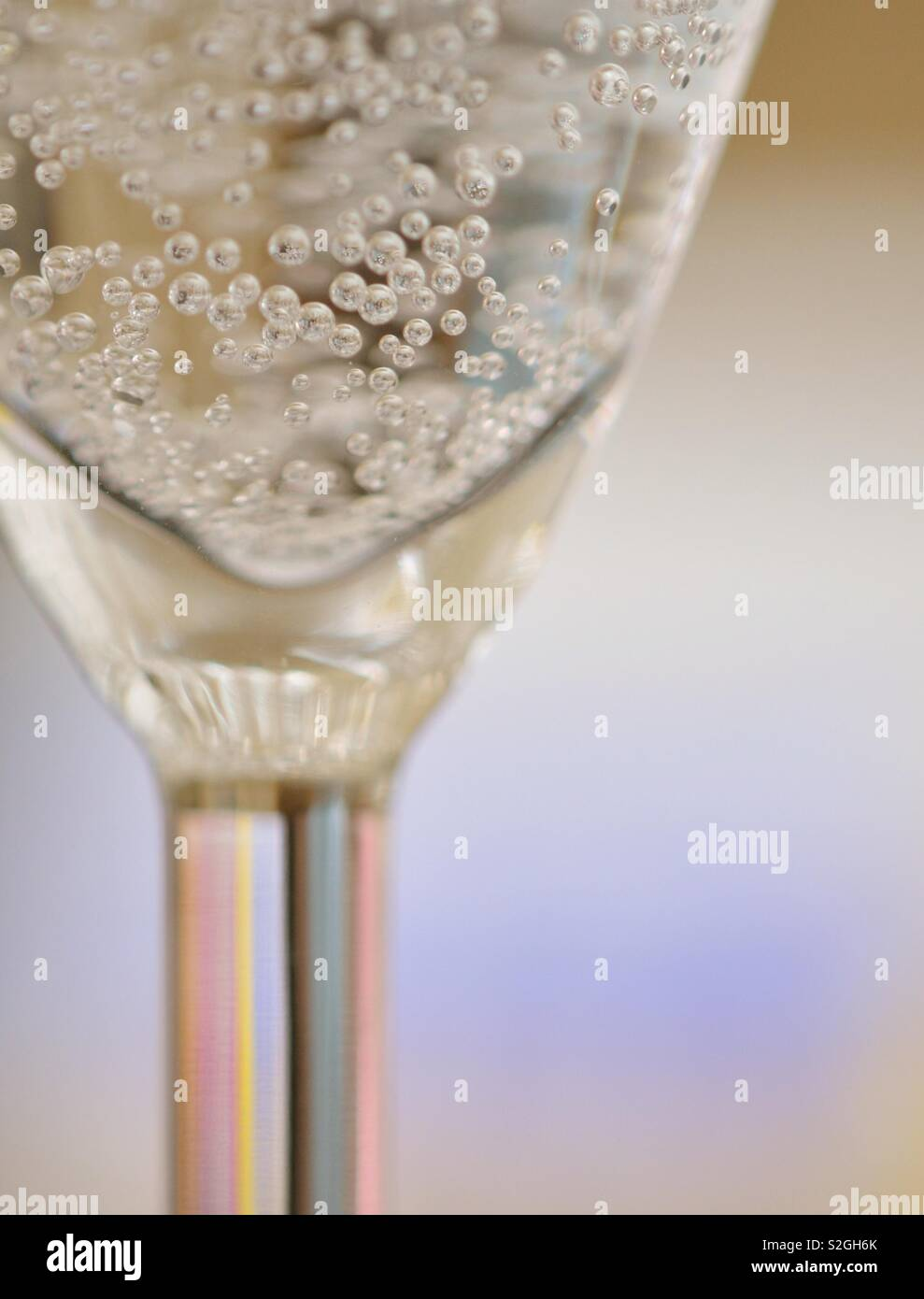 Bubbly - Stock Image