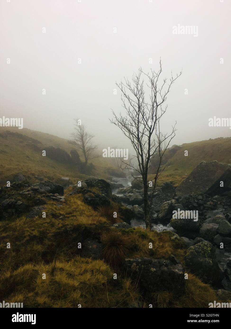 Scarfell pike - Stock Image
