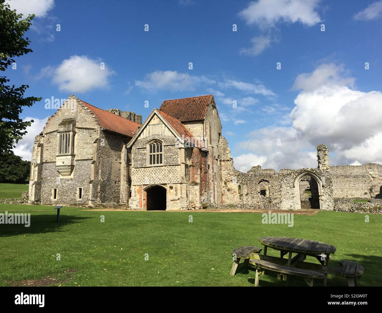 Castle Acre Priory Norfolk Stock Photo 311386792 Alamy