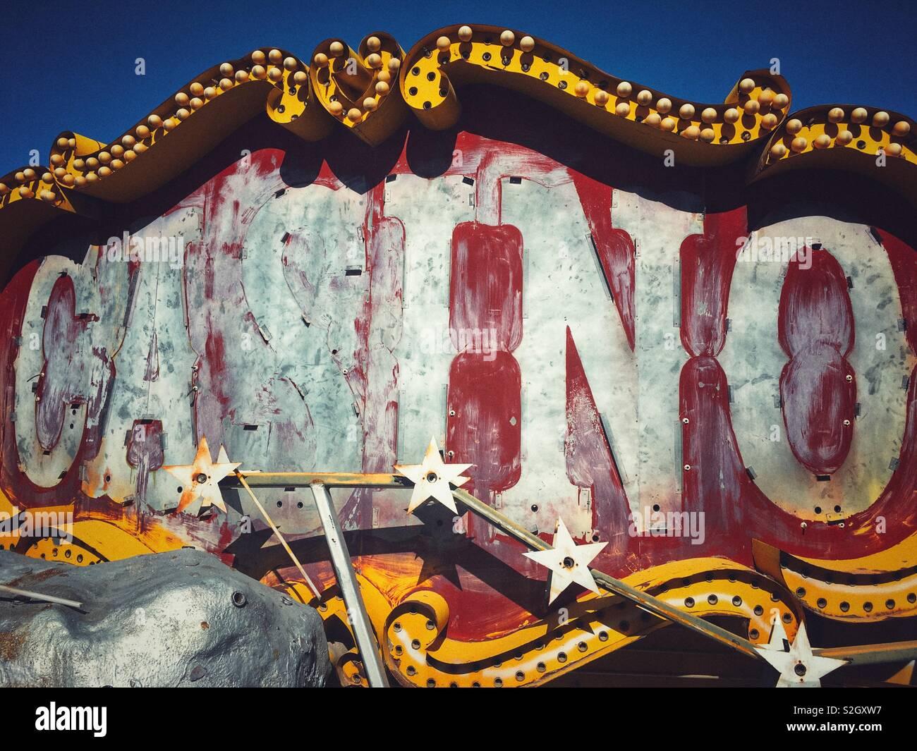 Casino signs museum aladdin casino michael moore