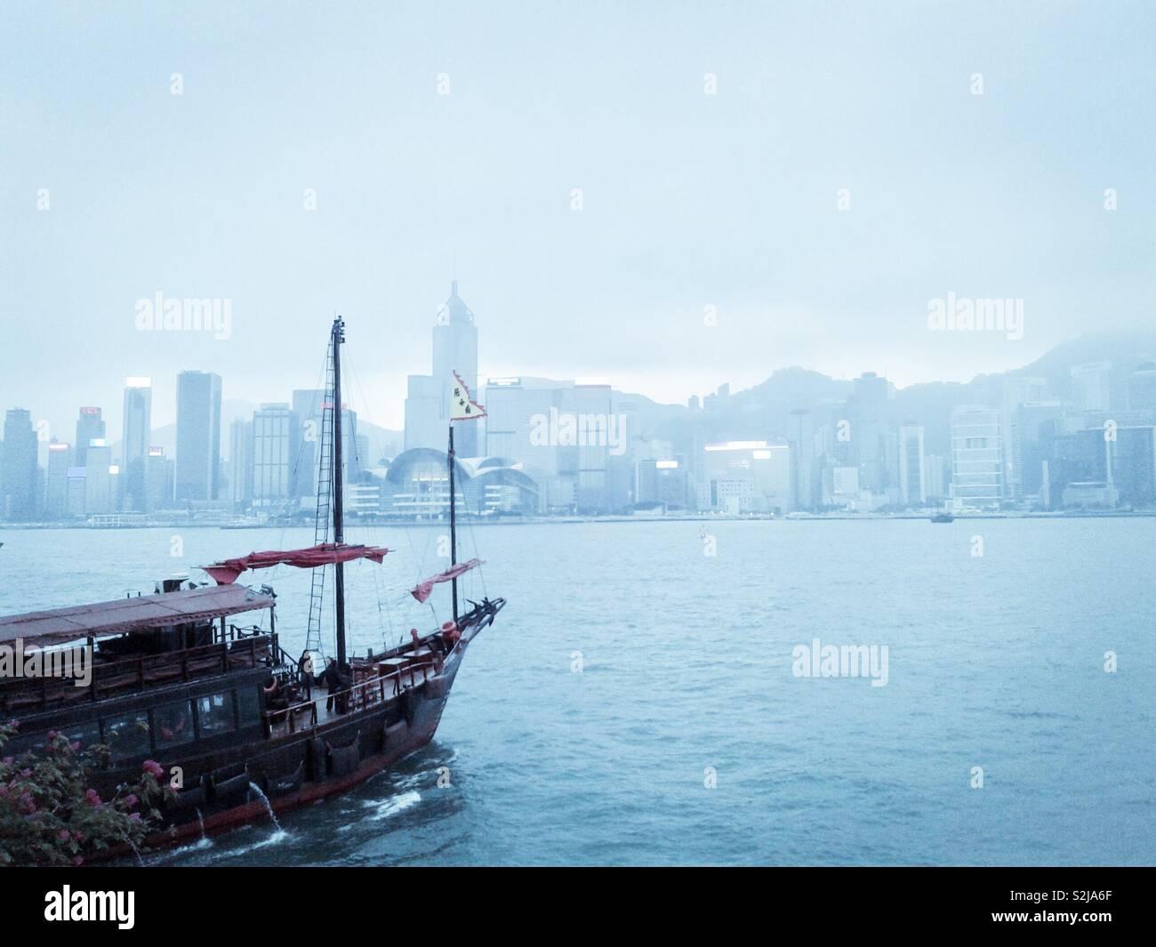 Hongkong View - Stock Image