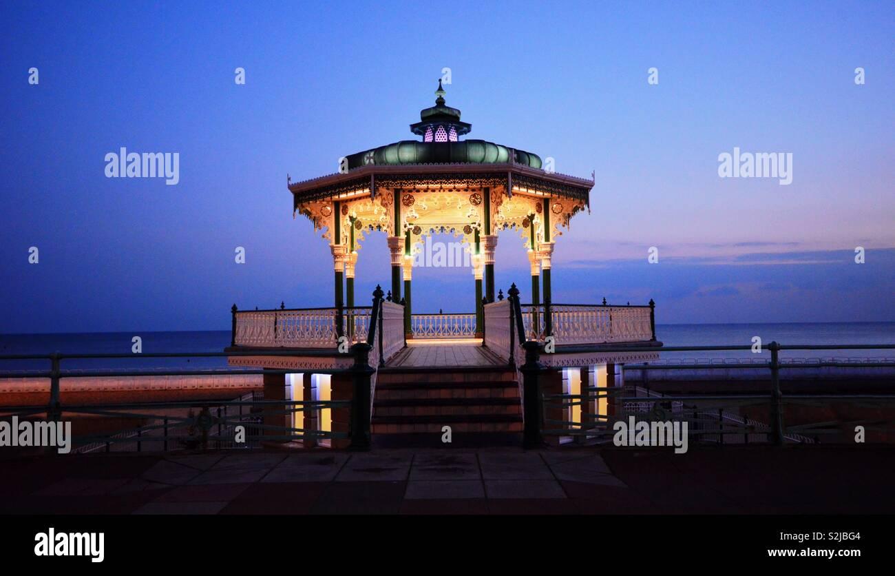 Brighton bandstand - Stock Image