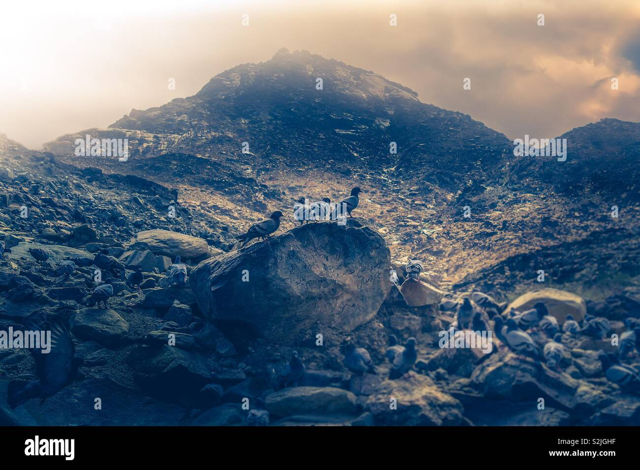 Mountain of Mecca KSA - Stock Image