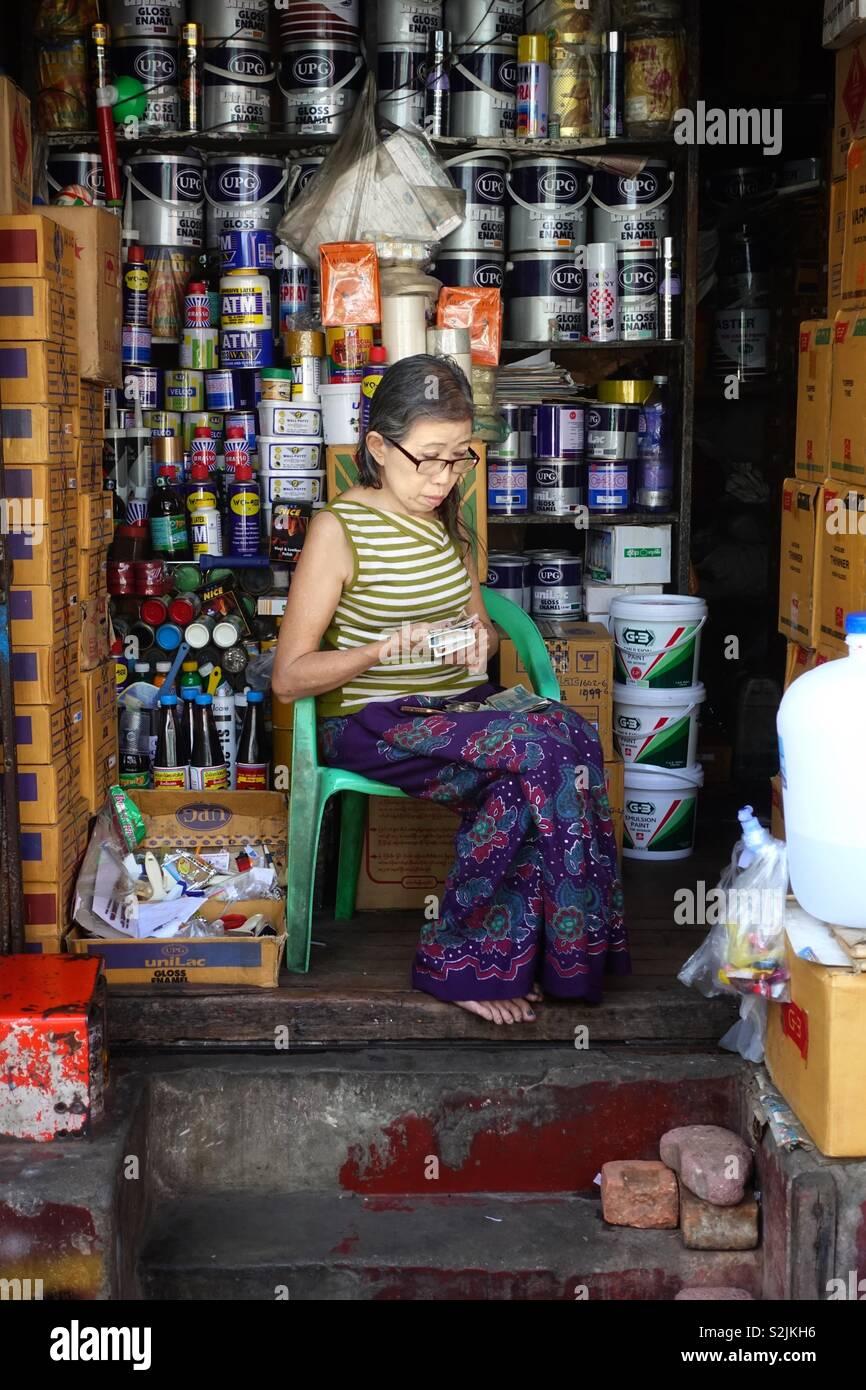 Burma Shop Stock Photos & Burma Shop Stock Images - Page 2