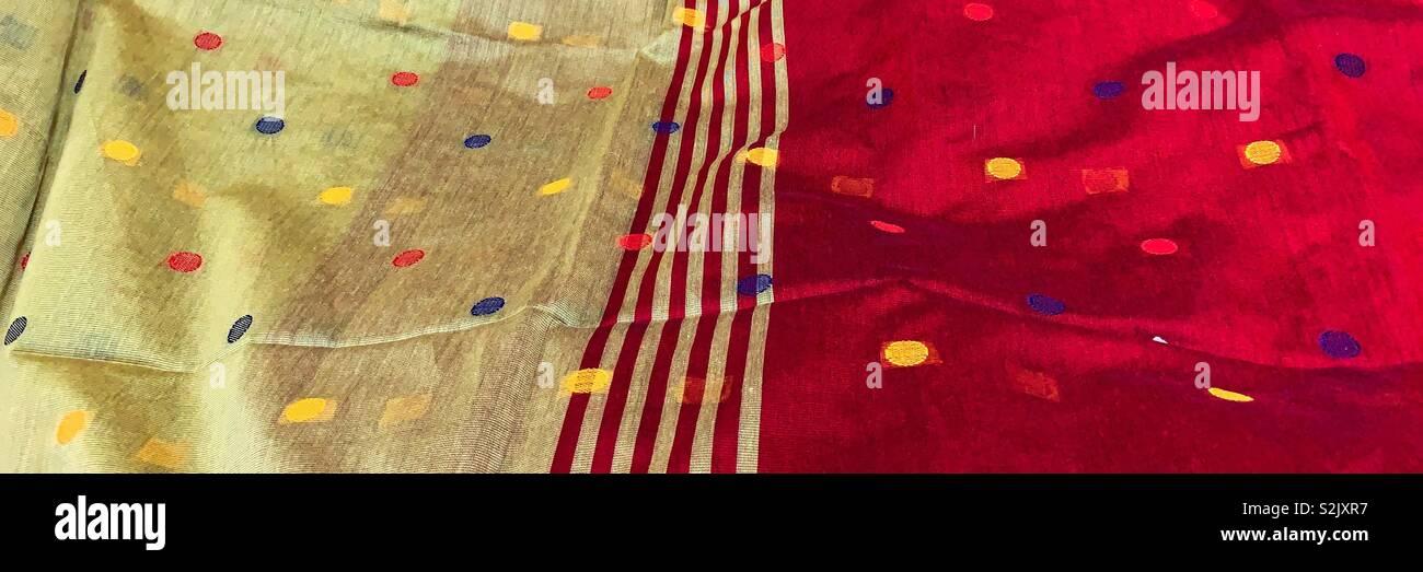 Cotton Saree Stock Photos & Cotton Saree Stock Images - Alamy