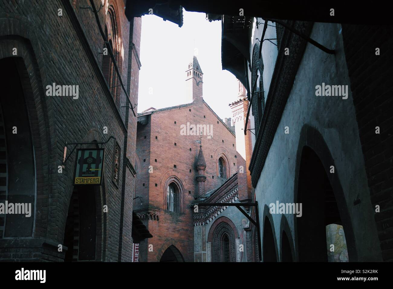 Borgo medievale Stock Photo