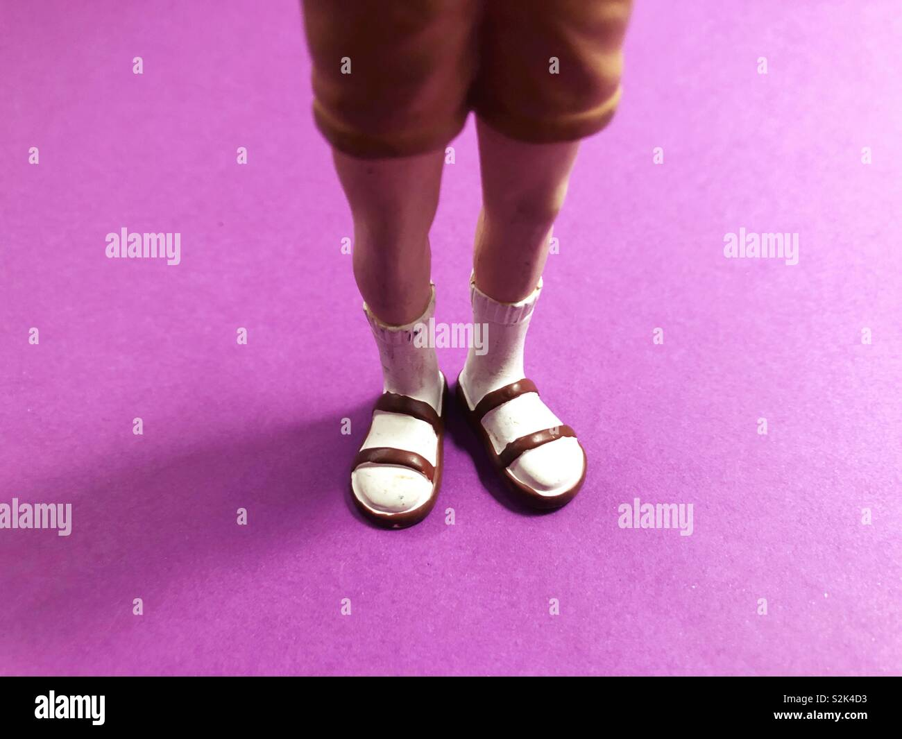 a911ab88bcf White Socks And Sandals Stock Photos   White Socks And Sandals Stock ...