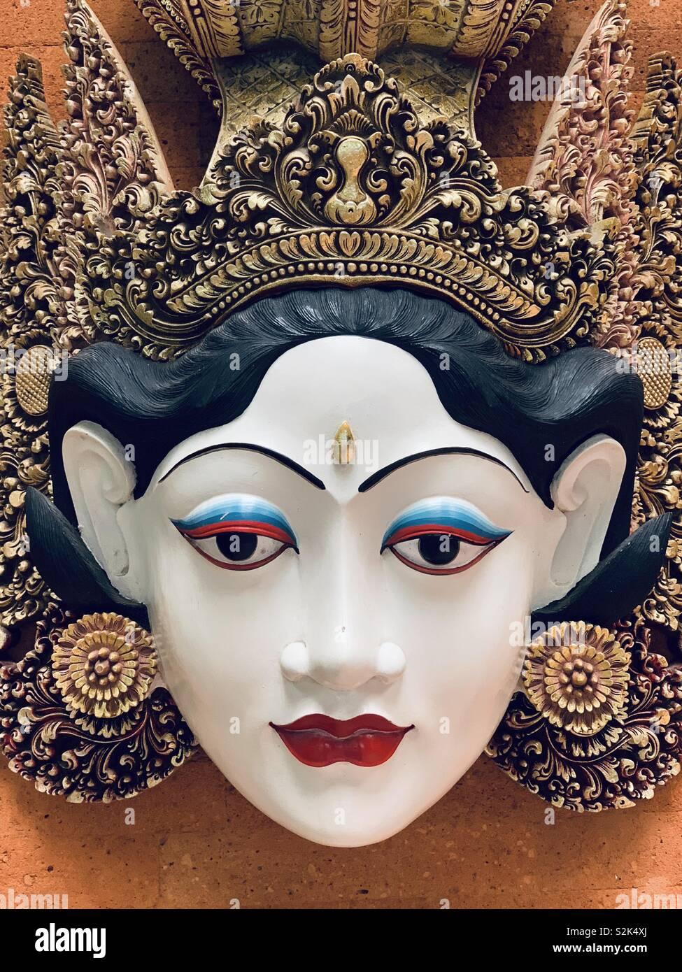 Sita mask - Stock Image