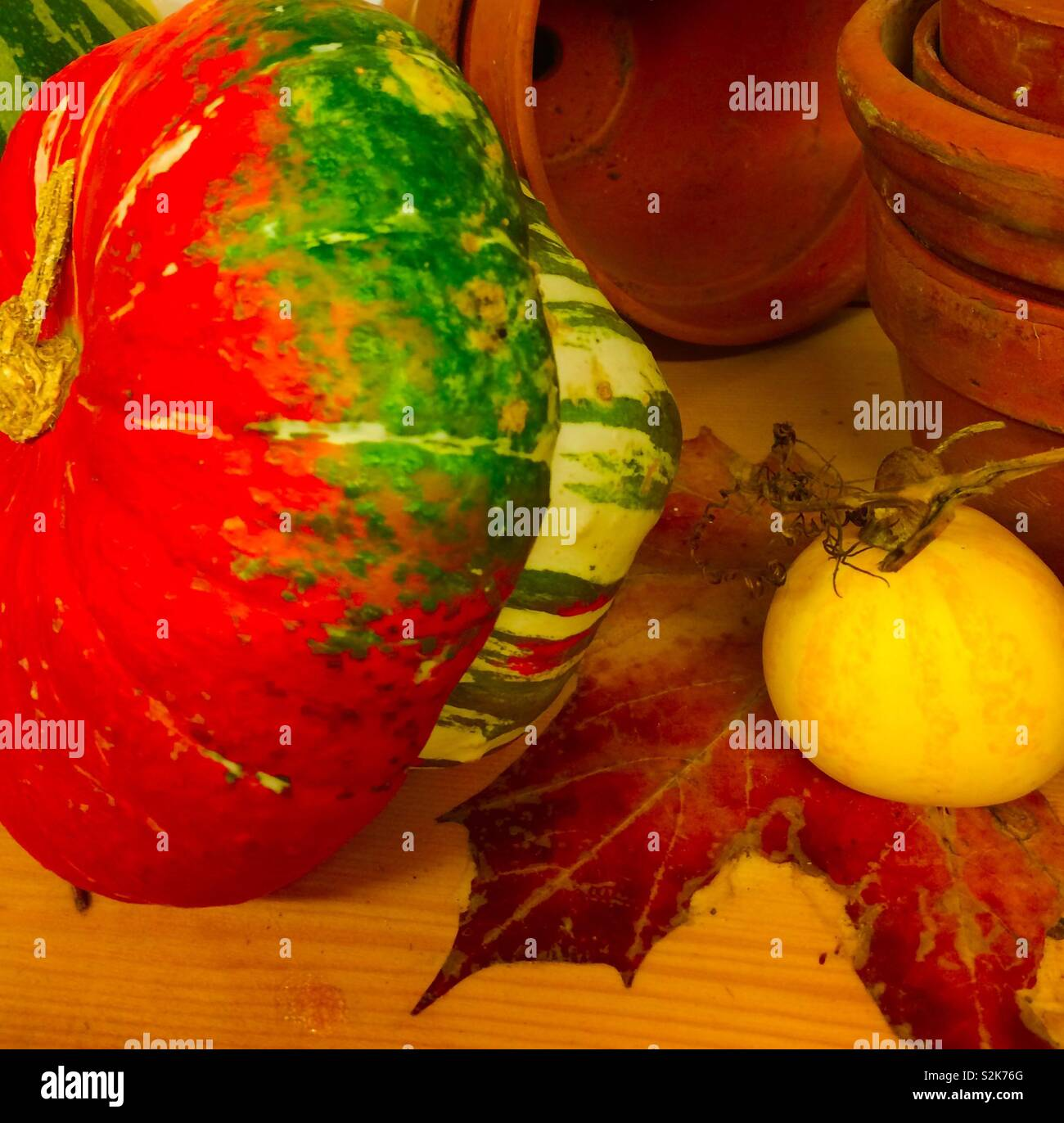 No 3 pumpkins Stock Photo