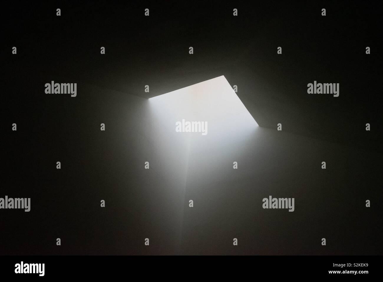 Godly light? - Stock Image