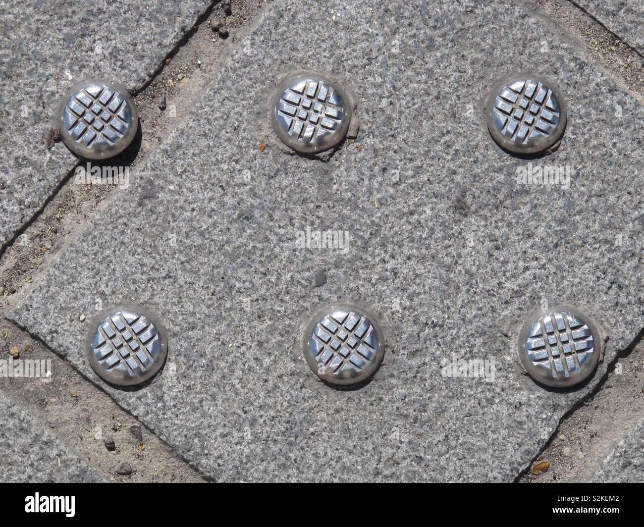 London pavements - Stock Image