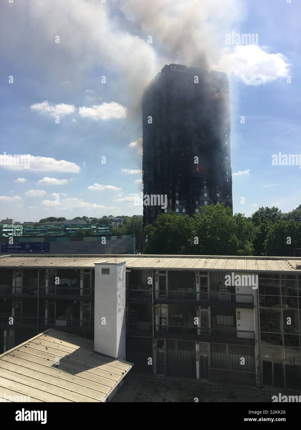 Grenfell Tower - Stock Image