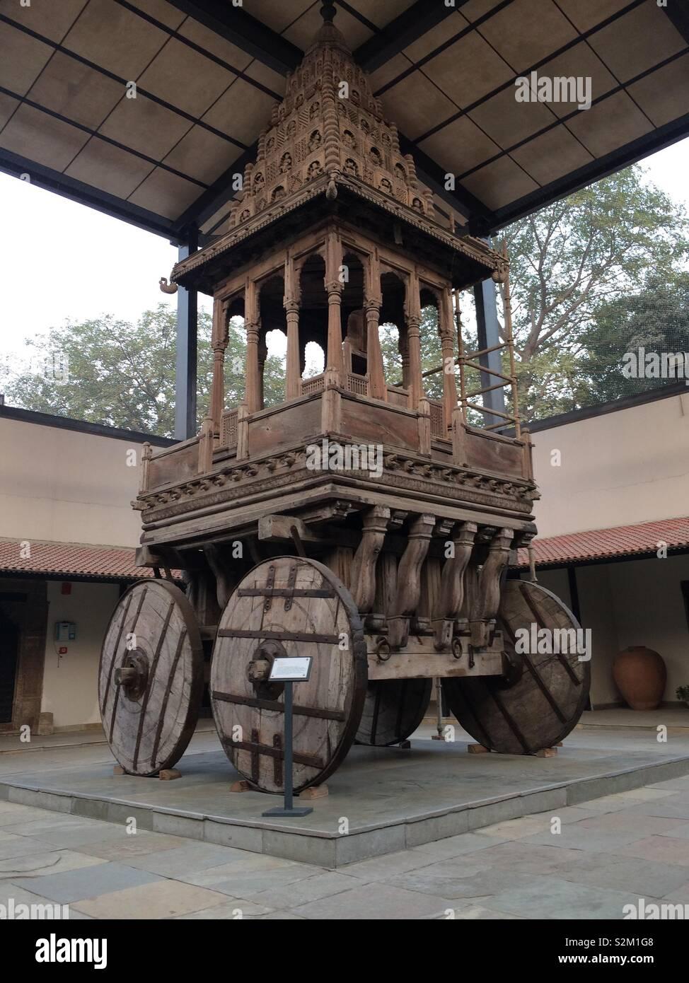 Puri Rath Yatra Replica Stock Photo