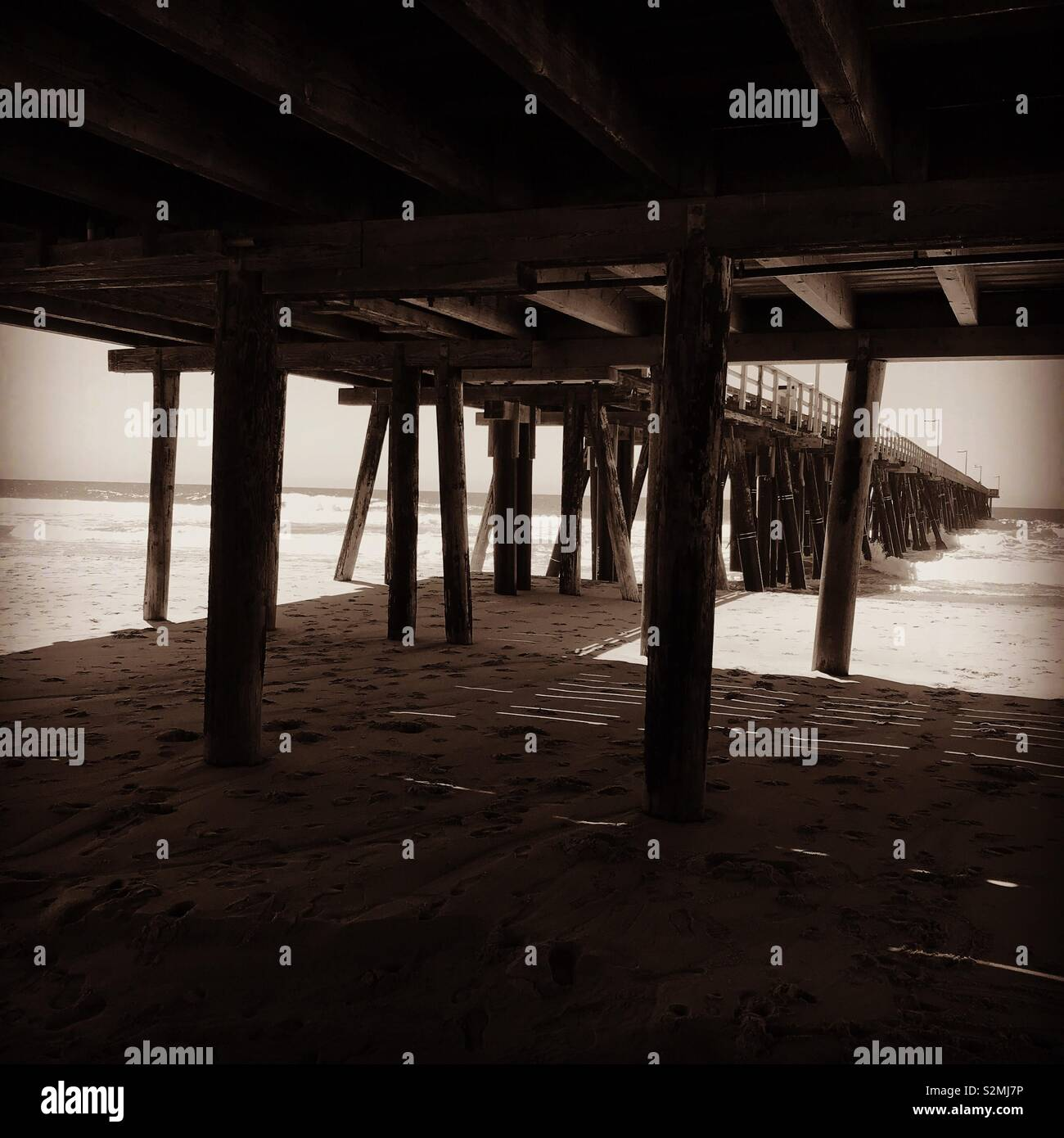 Port Hueneme Pier - Stock Image