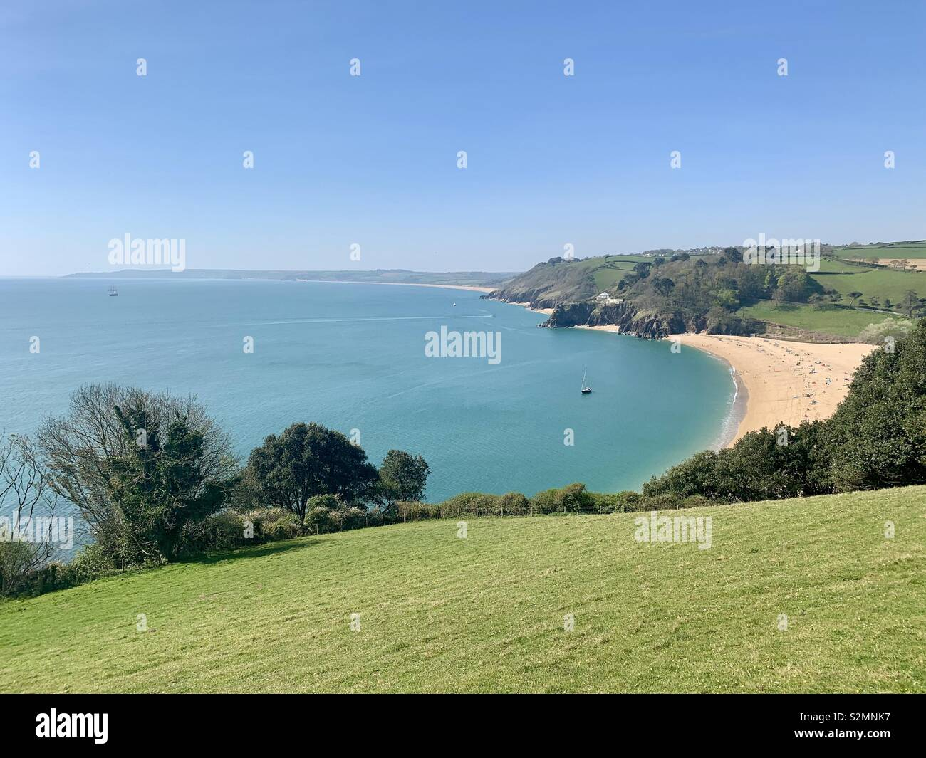 Blackpool Sands, Devon - Stock Image