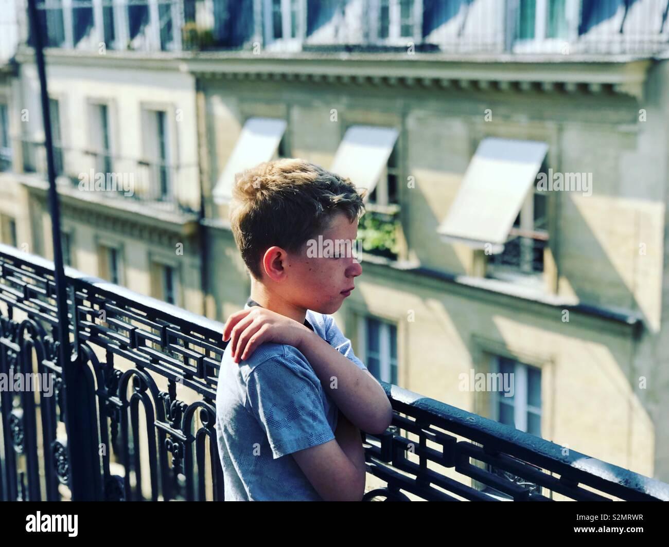 Streets of Paris - Stock Image