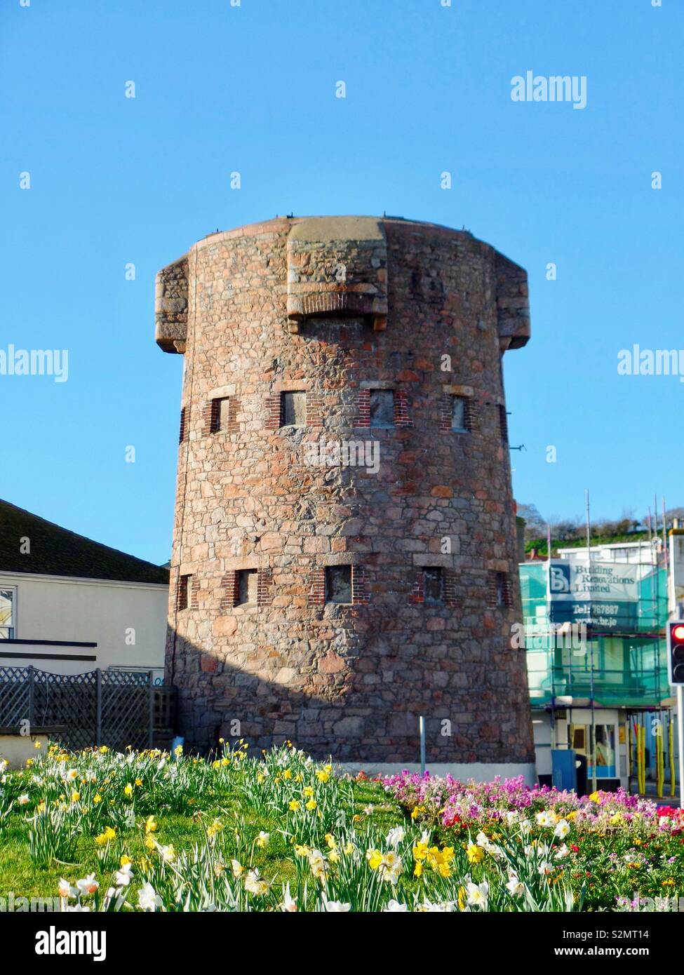 First Tower Jersey Stock Photo - Alamy