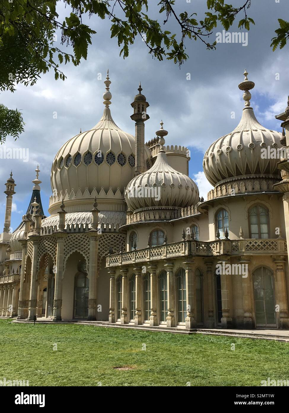Royal Pavilion Gardens, Brighton - Stock Image