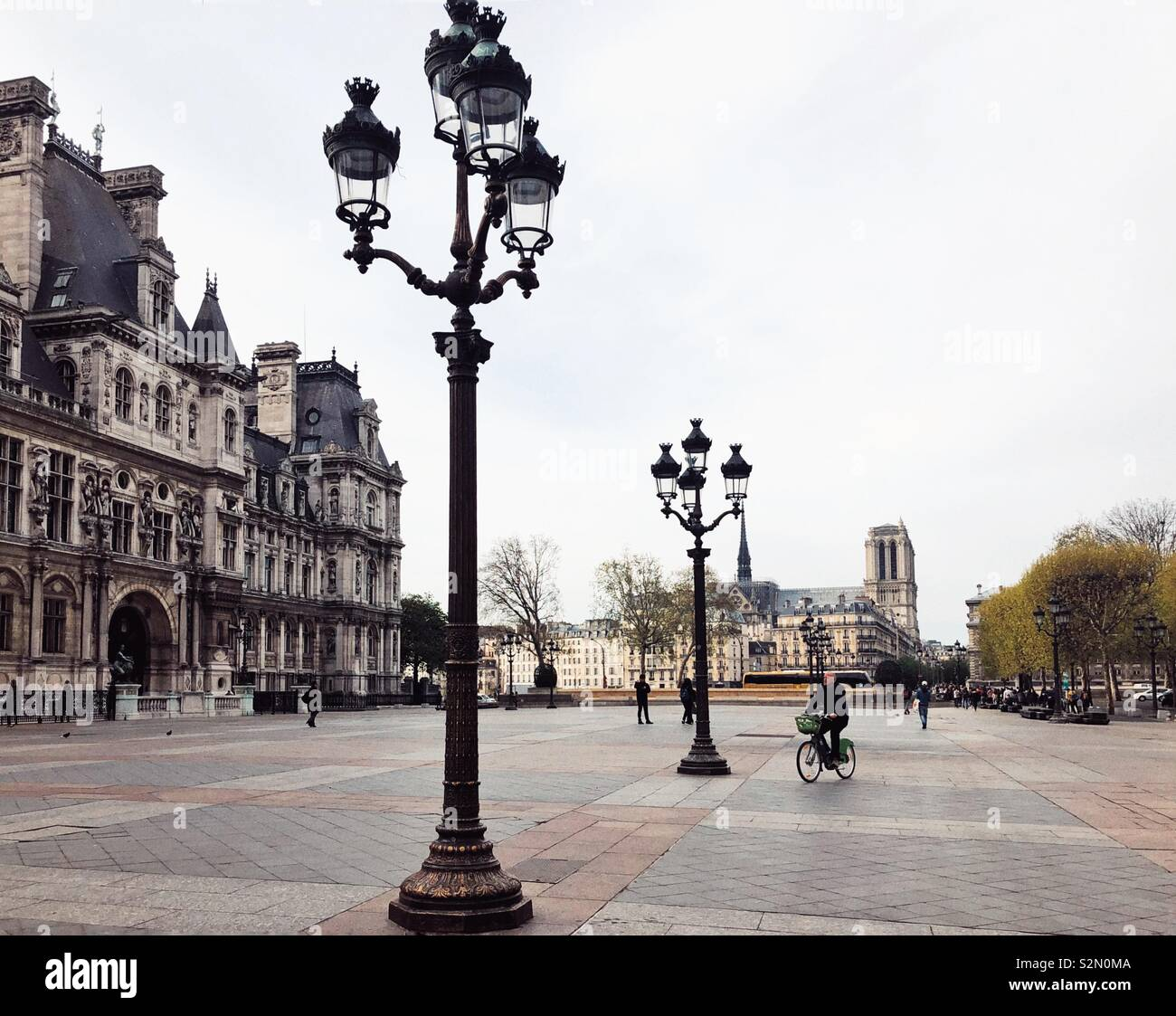 Paris we will never see again - Stock Image