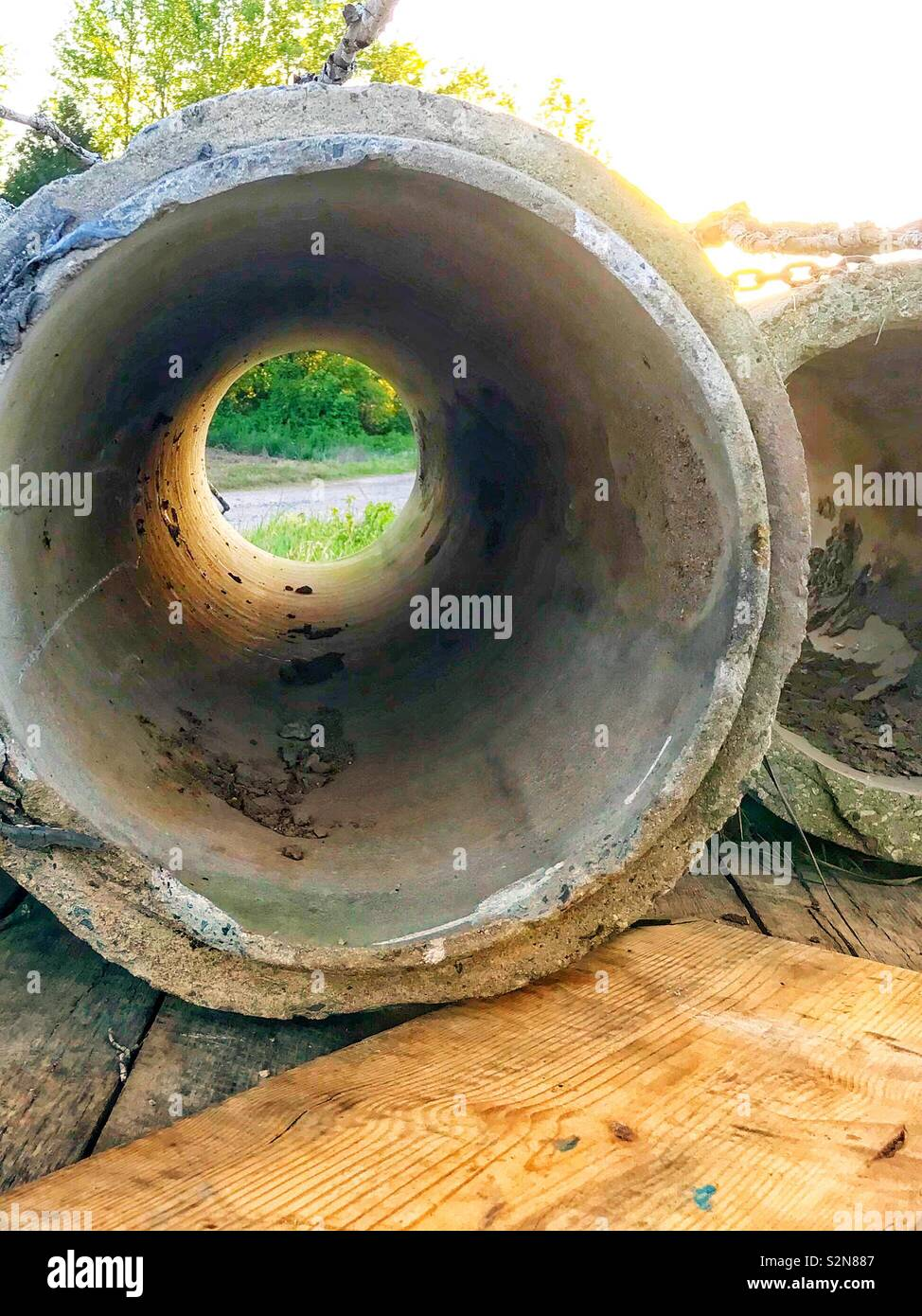 Concrete Pipe Stock Photos & Concrete Pipe Stock Images - Alamy
