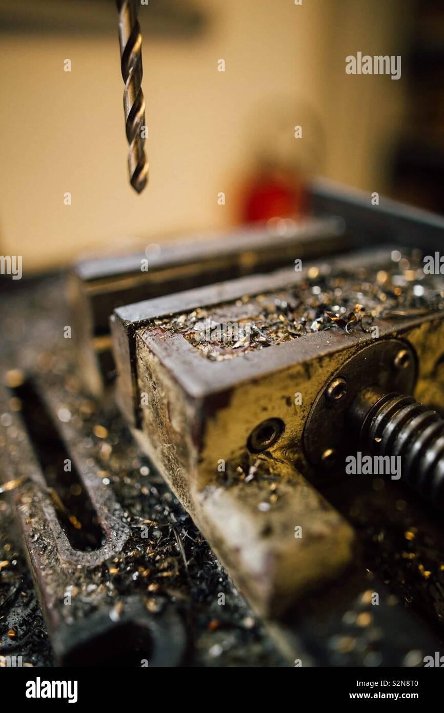Metallwork - Stock Image