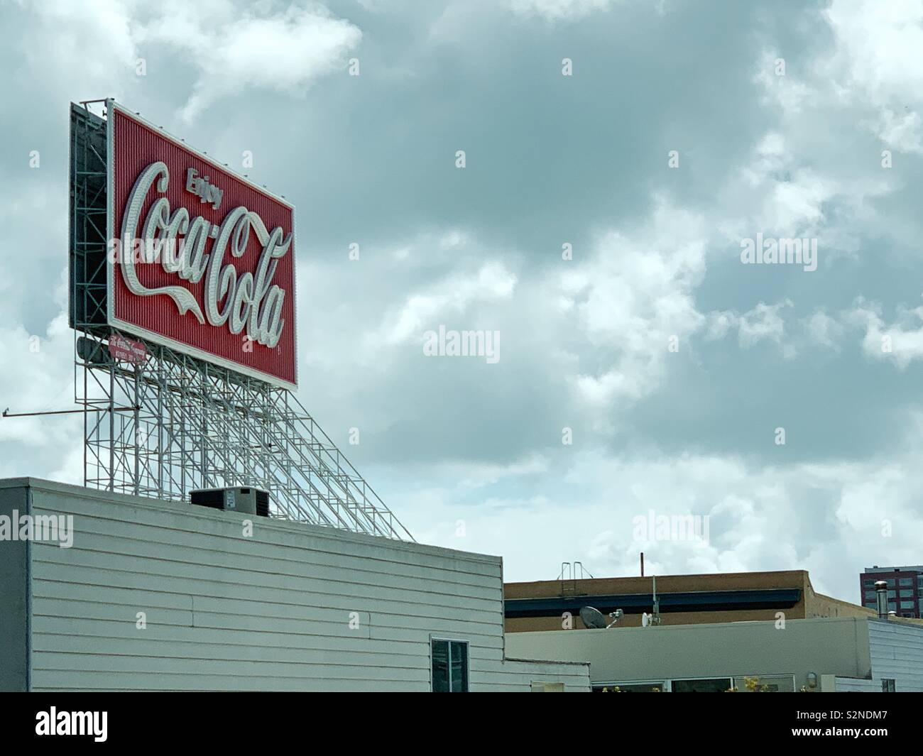 Pepsi Cola Billboard Stock Photos & Pepsi Cola Billboard