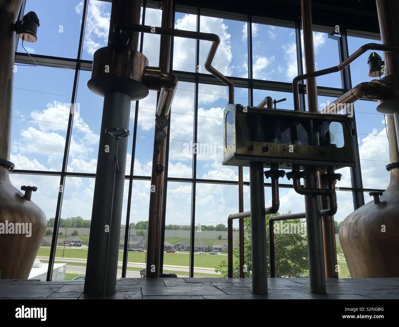 A distillery in Kentucky, USA - Stock Image