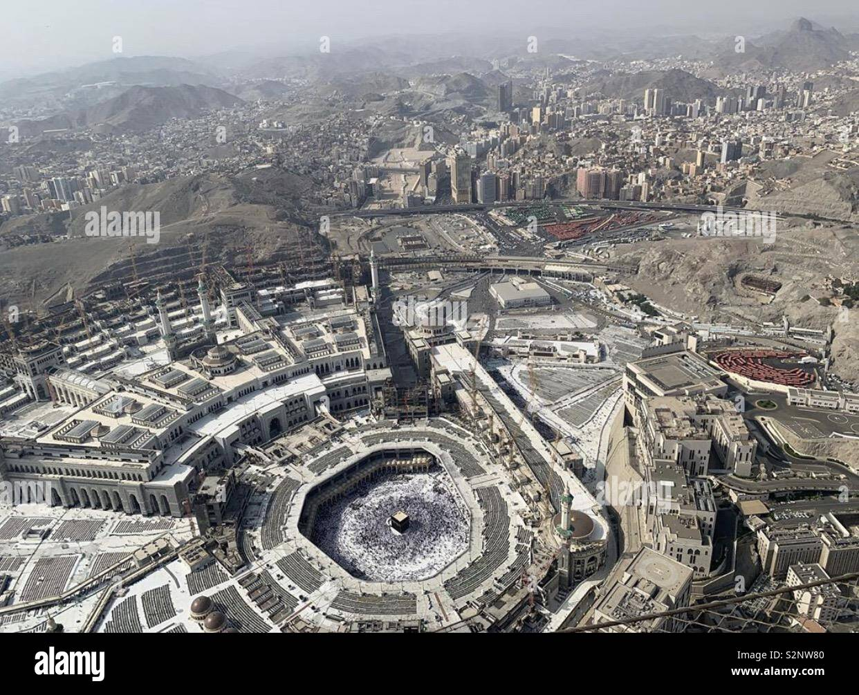 Mecca Clock Tower High Resolution Stock Photography And Images Alamy