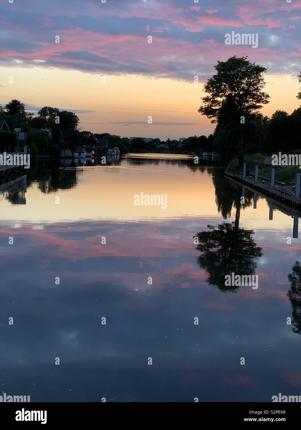 BlueHour - Stock Image