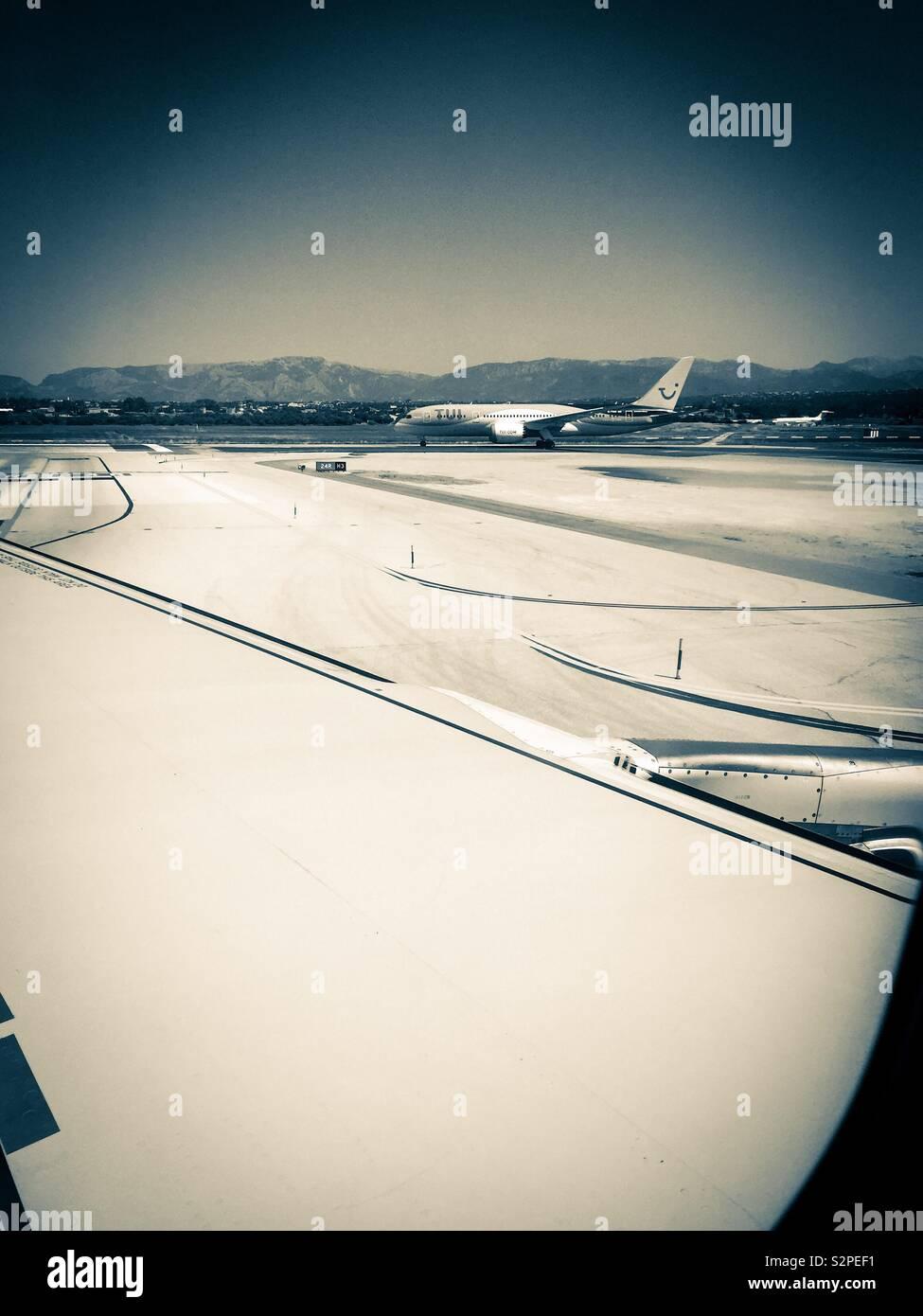 Palma de Mallorca airport - Stock Image