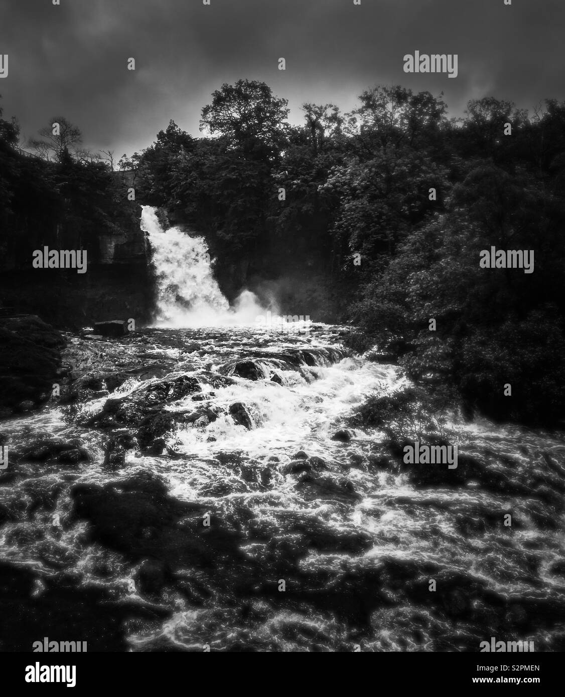 Thornton Force, Ingleton Stock Photo